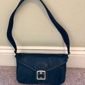 🆕 Coach all leather mini shoulder bag